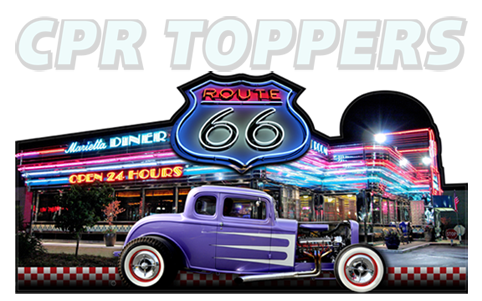 Cool new Toppers from CPR Diner-Topper