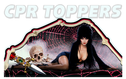 Cool new Toppers from CPR Elvira-the-Party-Monsters-Topper